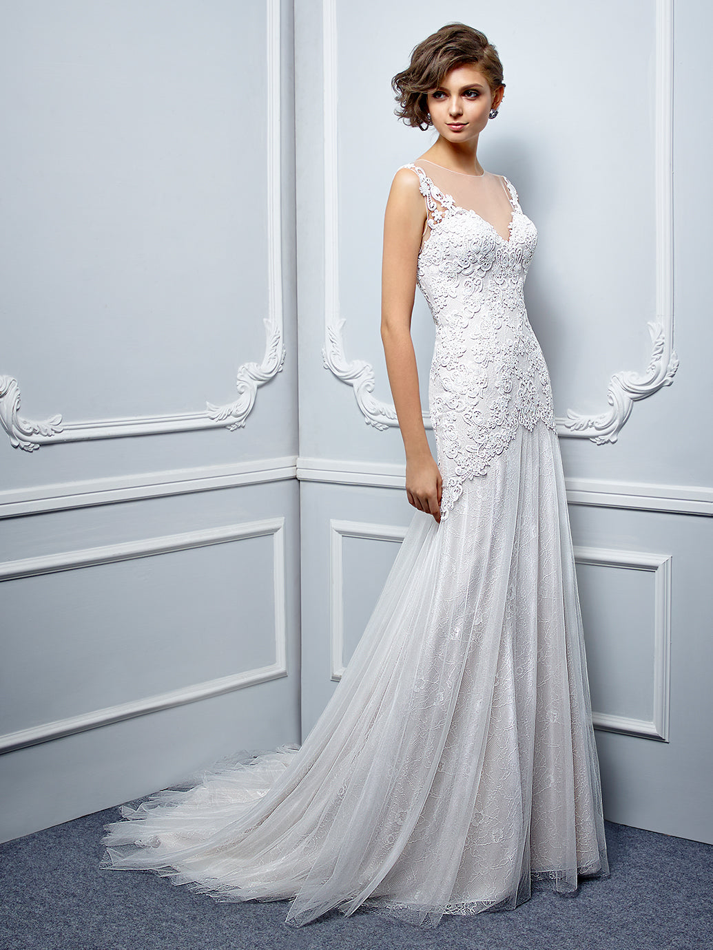 Nora - Sample Gown, Online Sample Sale, Beautiful by Enzoani - Sample Gown - Eternal Bridal