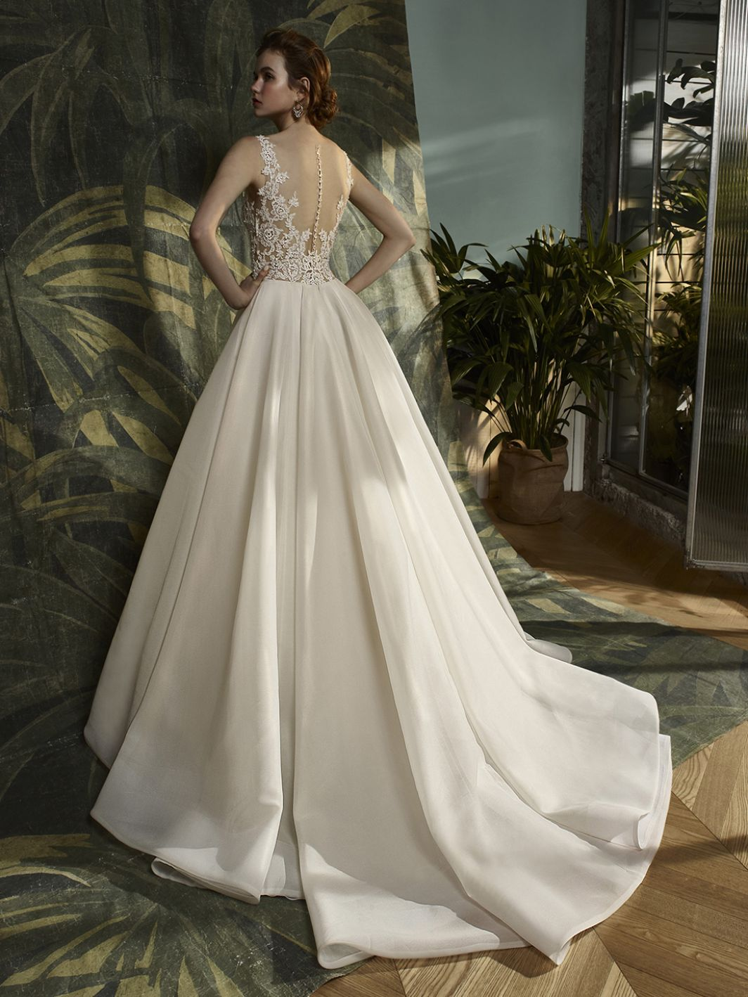 Krystal - Sample Gown, Online Sample Sale - 1800, Blue by Enzoani - Sample Gown - Eternal Bridal