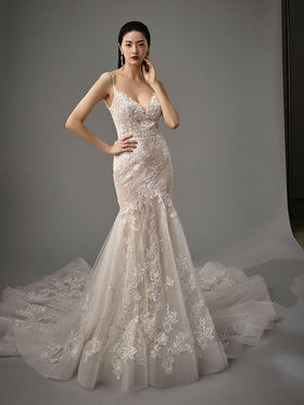 Magnolia - New, Gown, Blue by Enzoani - Eternal Bridal