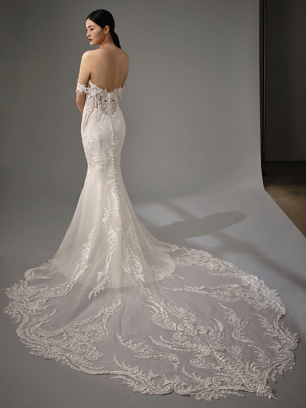 Martha - Coming Soon, Gown, Blue by Enzoani - Eternal Bridal