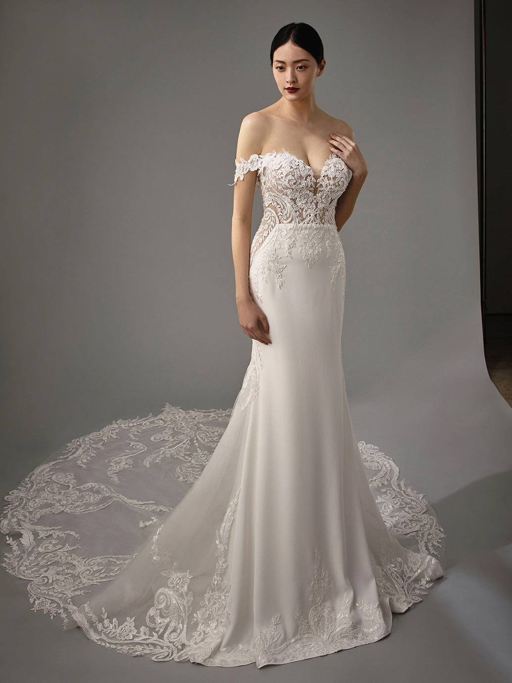 Martha - New, Gown, Blue by Enzoani - Eternal Bridal