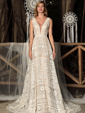Cora - Sample Gown, Online Sample Sale - 1800, Chic Nostalgia - Sample Gown - Eternal Bridal