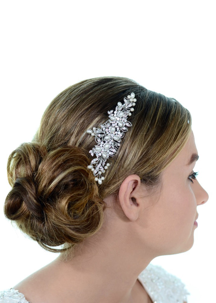 Sentiment Comb, Headpiece, Eternal Bridal - Eternal Bridal