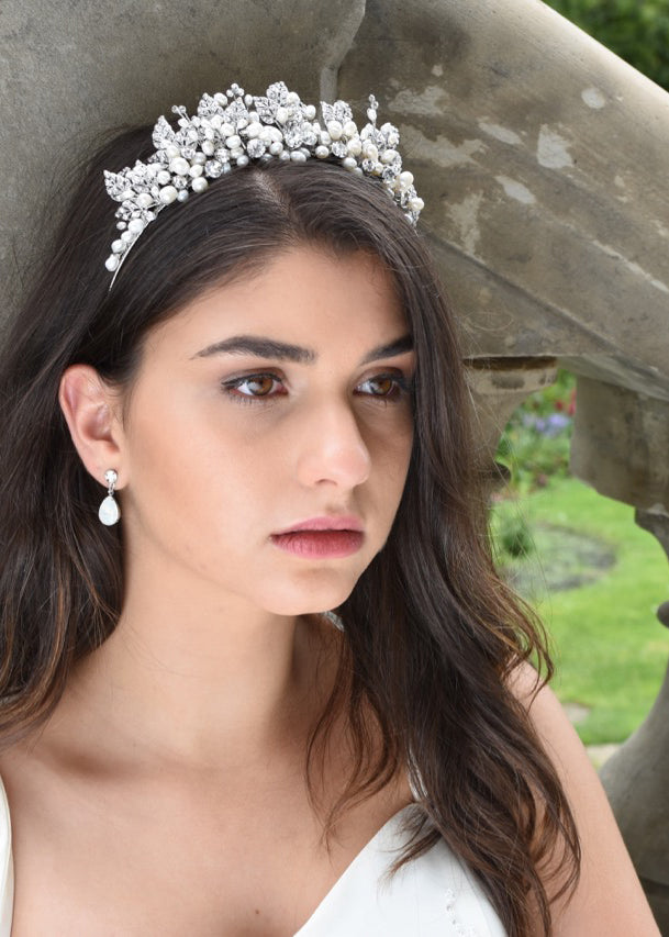 Bond of Love Crown, Headpiece, Eternal Bridal - Eternal Bridal