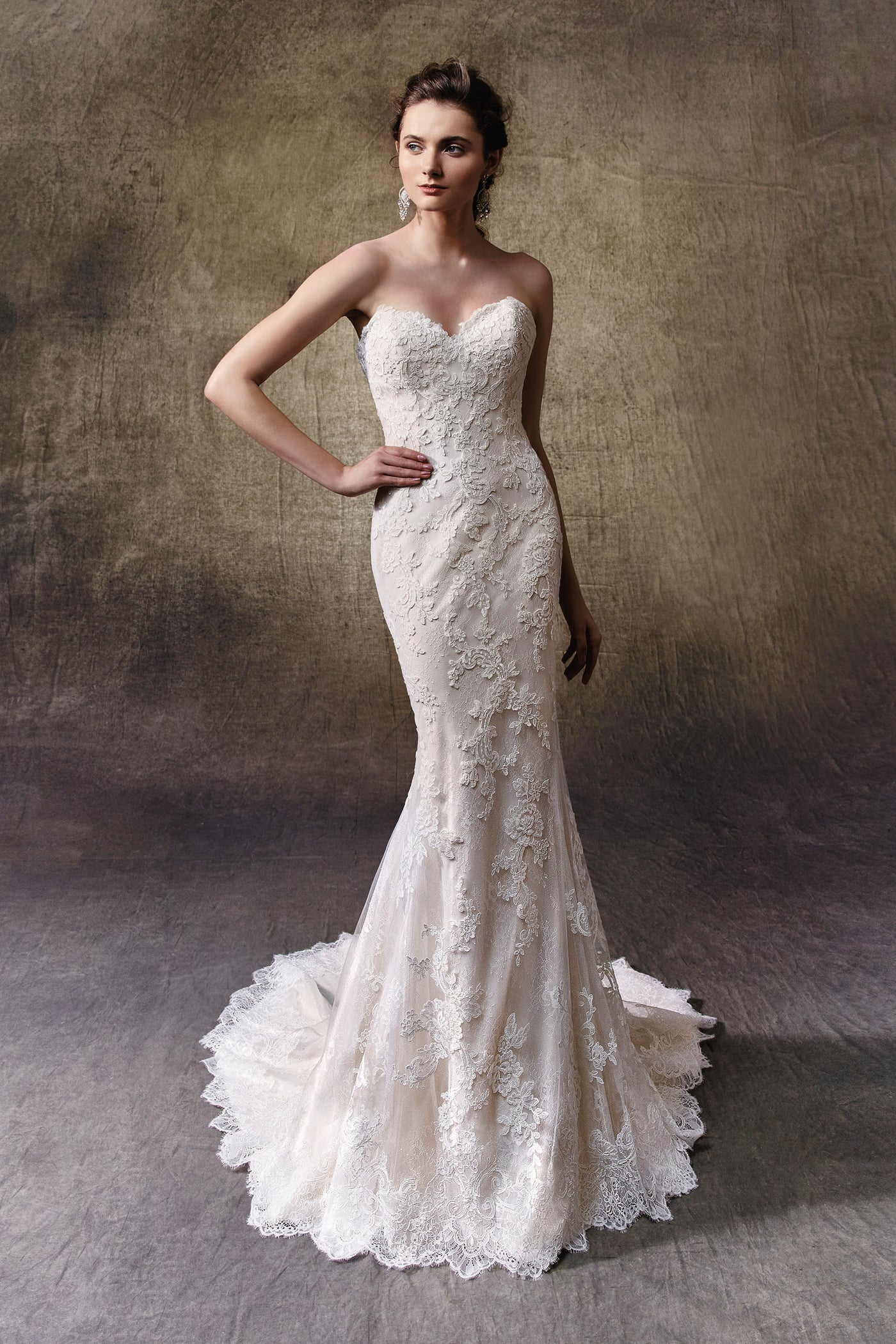 Lucie, Gown, Enzoani - Eternal Bridal