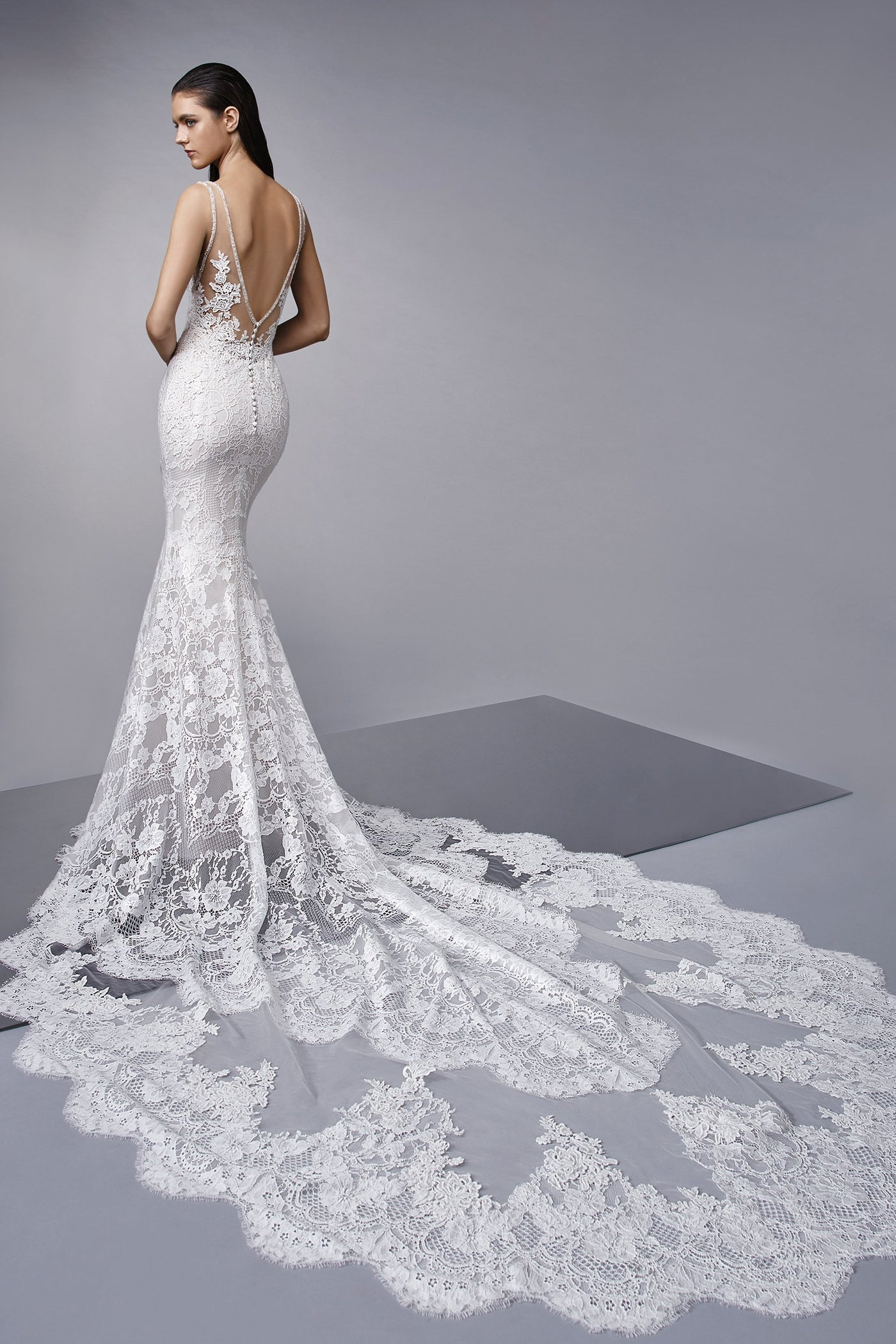 Masha - Sample Gown, Online Sample Sale, Enzoani - Sample Gown - Eternal Bridal