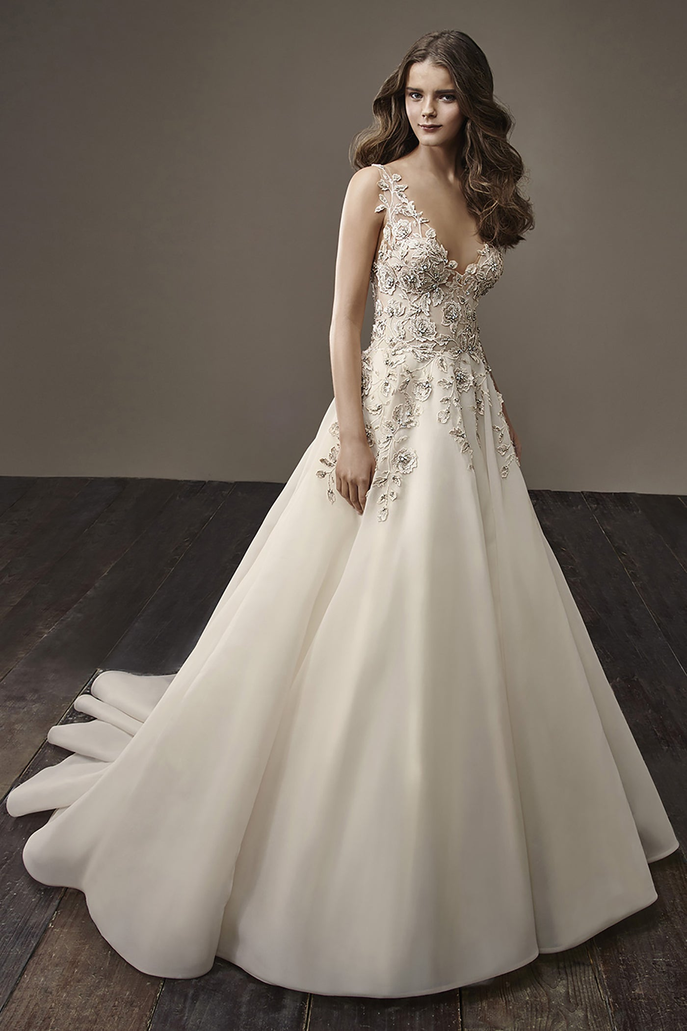 Brooke, Gown, Badgley Mischka Bride - Eternal Bridal