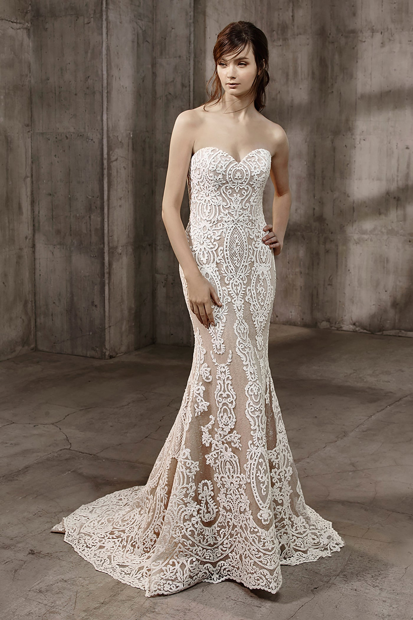 Amal, Gown, Badgley Mischka Bride - Eternal Bridal