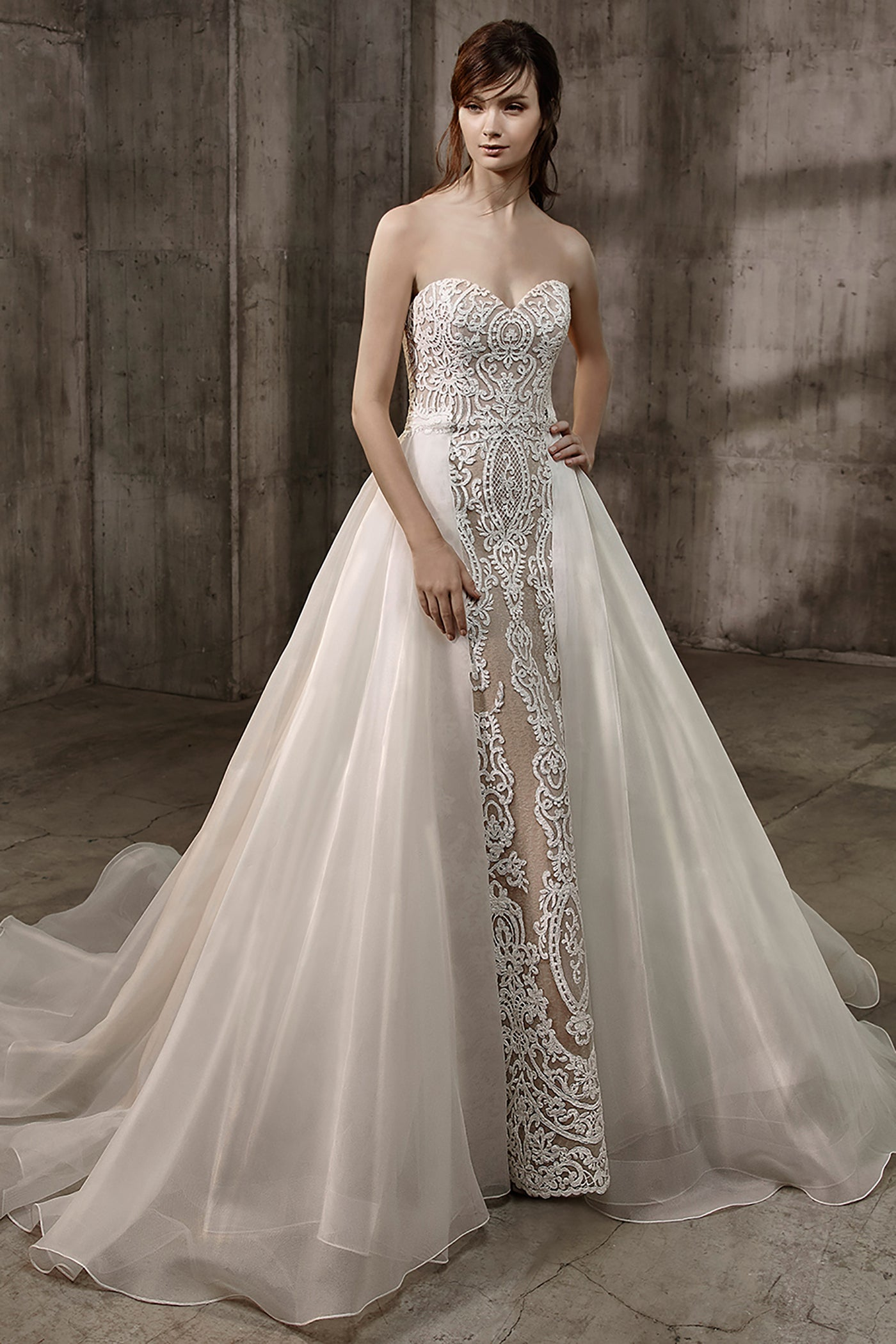 Amal - Gown - Badgley Mischka Bride - Eternal Bridal