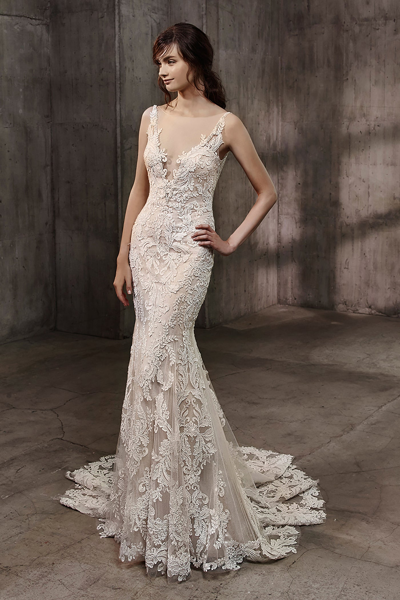 Aubree, Gown, Badgley Mischka Bride - Eternal Bridal