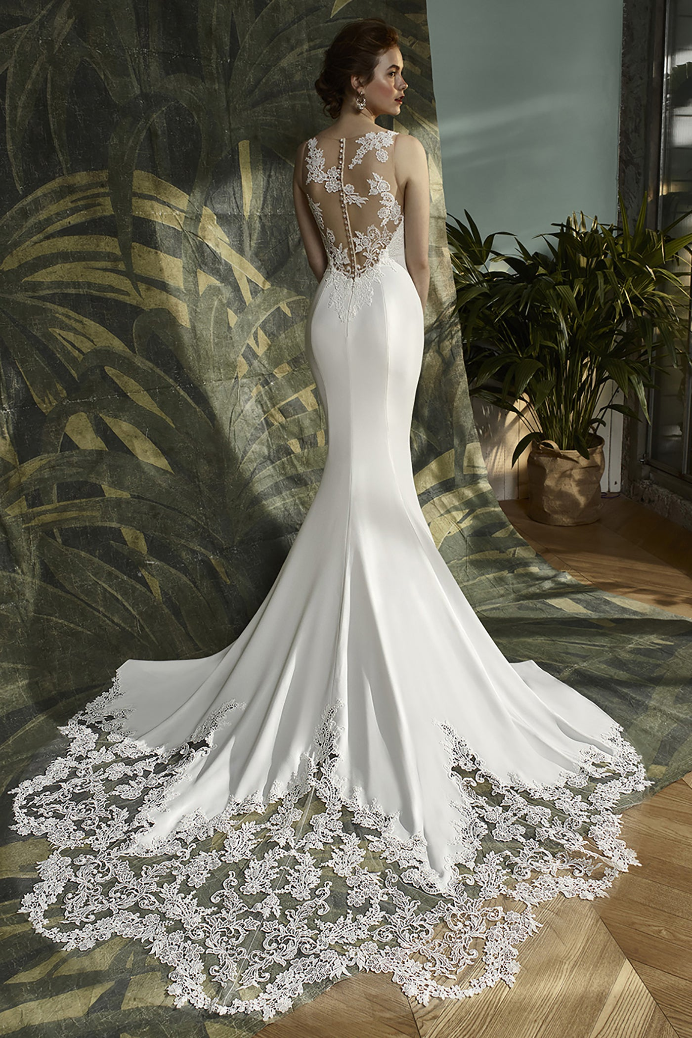 Kalypso, Gown, Blue by Enzoani - Eternal Bridal