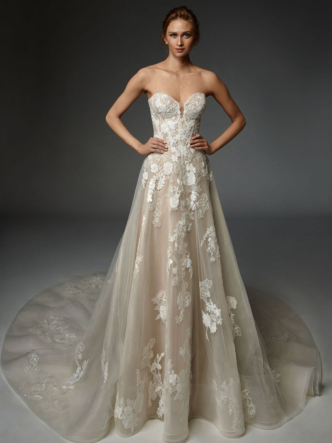 Hyacinthe - New, Gown, Élysée by Enzoani - Eternal Bridal