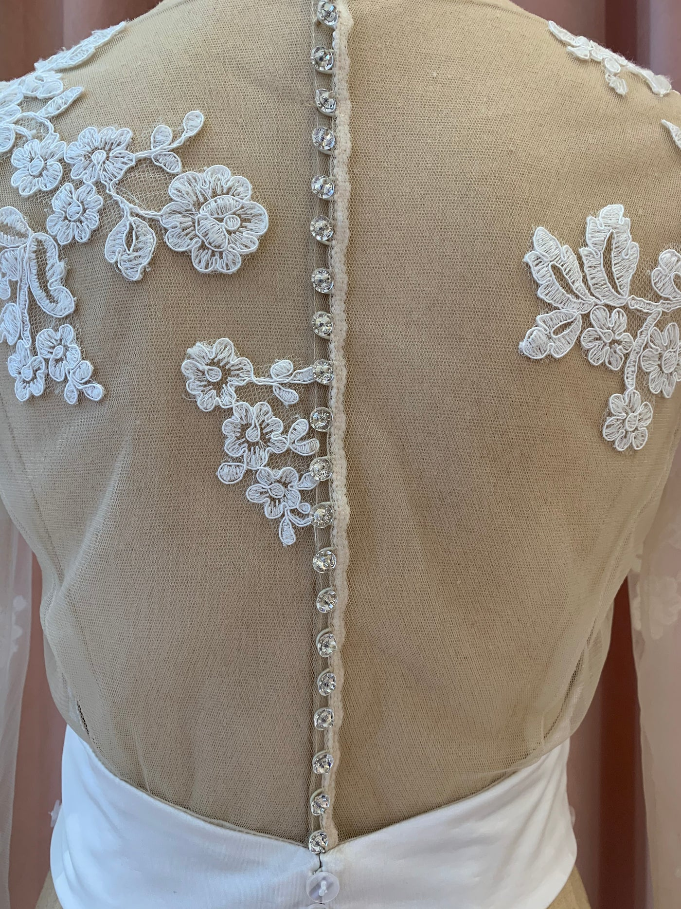 Lindy - Sample Bodice - Ivory/Nude