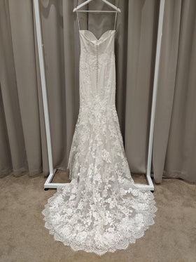 Laura - Sample Gown, Online Sample Sale, Blue by Enzoani - Sample Gown - Eternal Bridal
