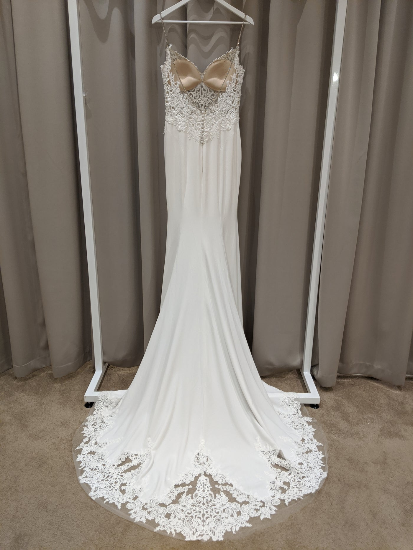 Juri - Sample Gown, Online Sample Sale, Blue by Enzoani - Sample Gown - Eternal Bridal