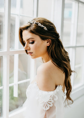 Melody Crown, Headpiece, Eternal Bridal - Eternal Bridal