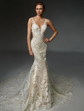 Justine - New, Gown, Élysée by Enzoani - Eternal Bridal