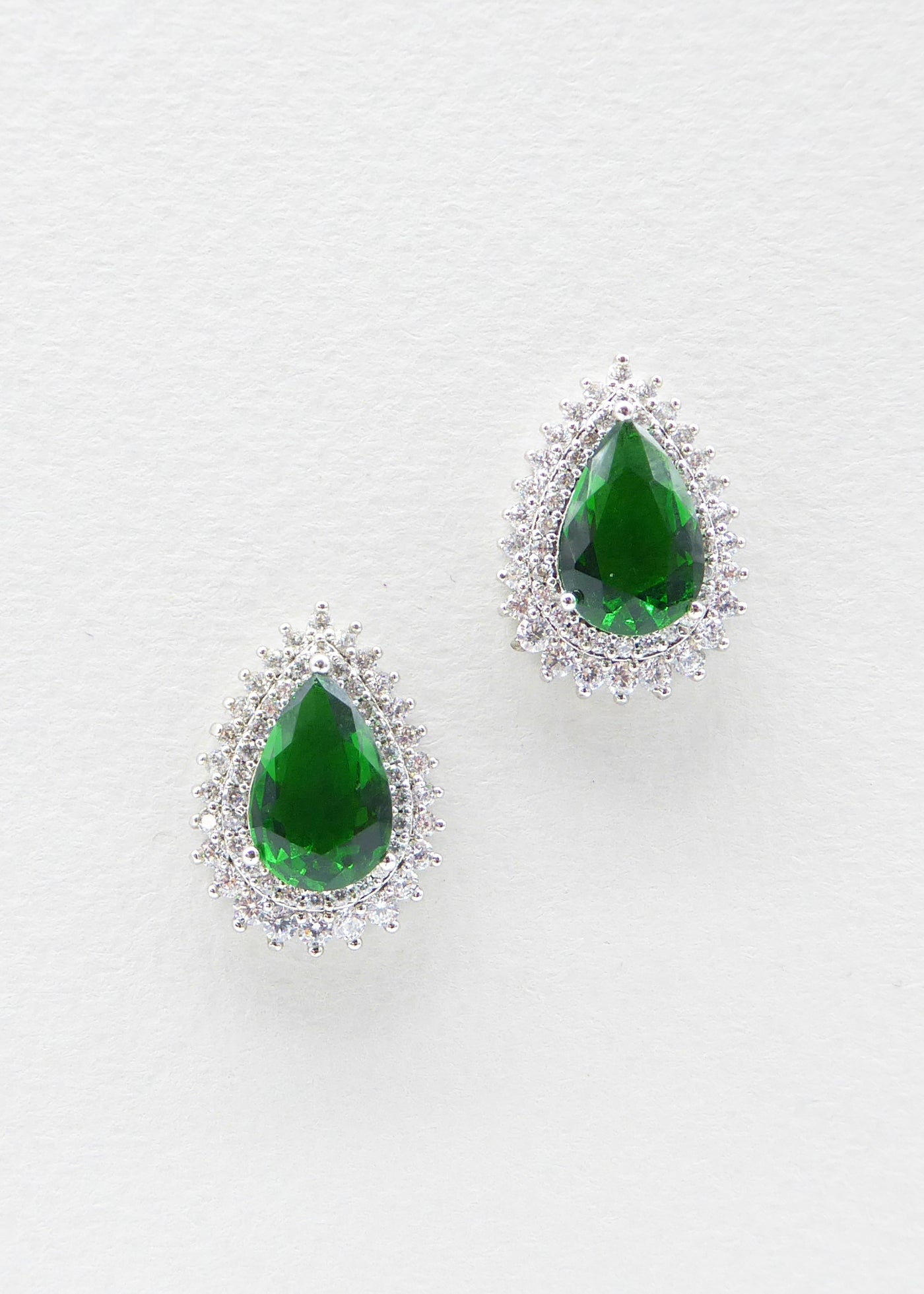 Savoy Green - Last Pair, Jewellery, Eternal Bridal - Eternal Bridal