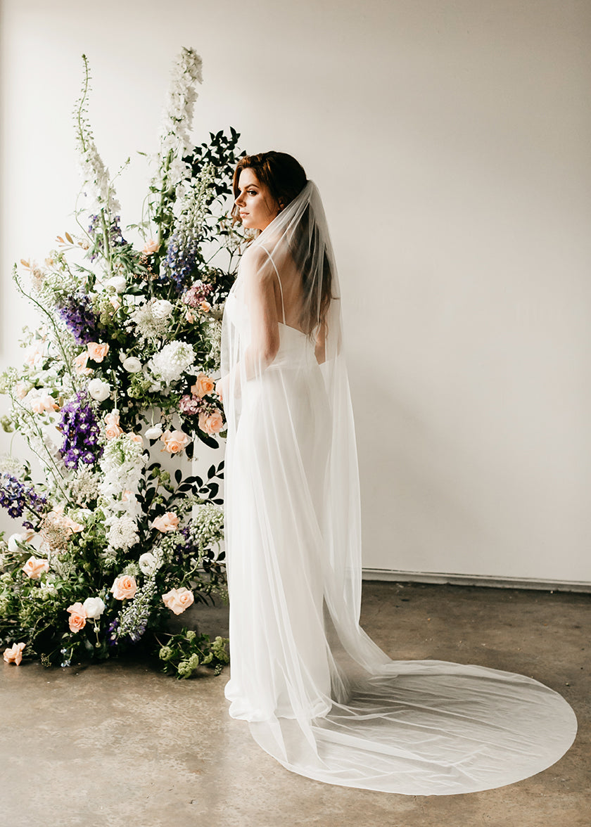 Cali I (Soft) Veil, Veils, Eternal Bridal - Eternal Bridal