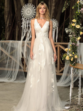 Stella - Sample Gown, Online Sample Sale, Chic Nostalgia - Sample Gown - Eternal Bridal