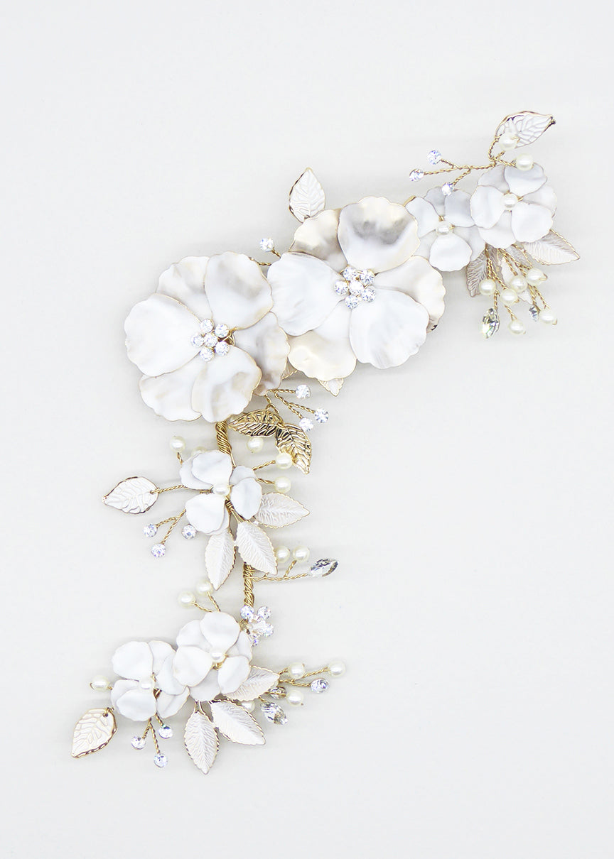 Garden In Bloom Comb - Headpiece - Eternal Bridal - Eternal Bridal