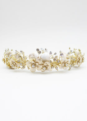 Sweet Bliss Crown, Headpiece, Eternal Bridal - Eternal Bridal