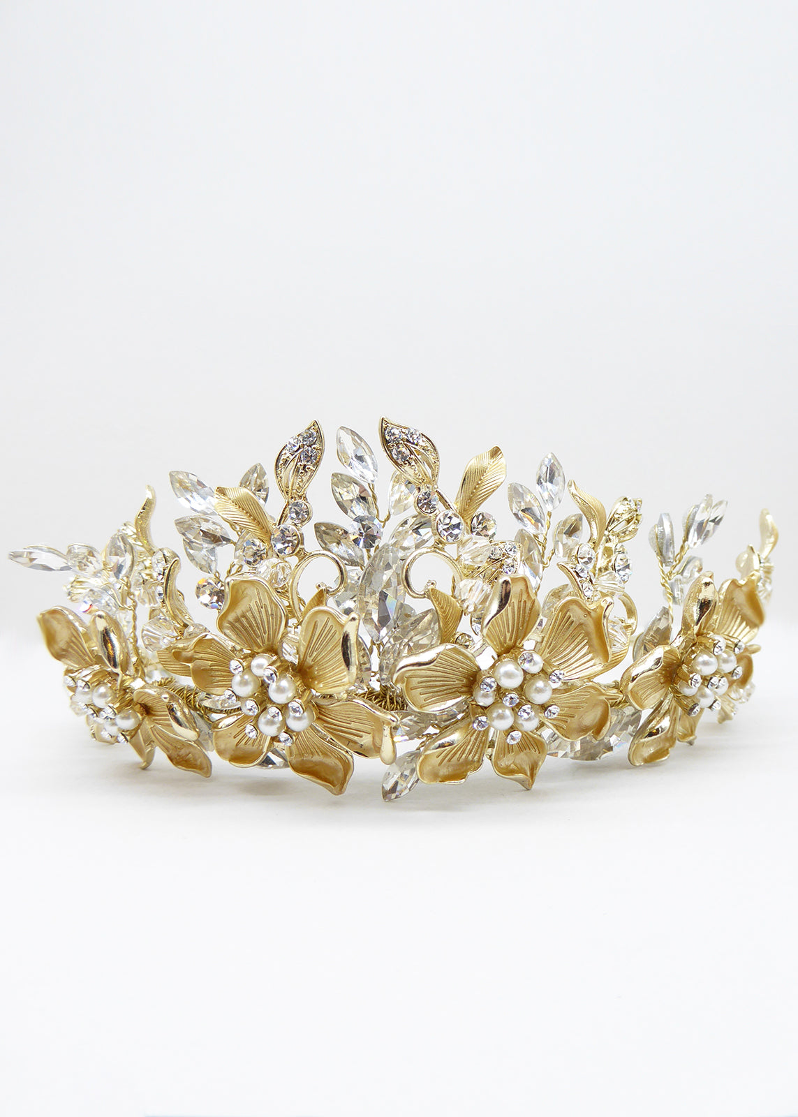 Devotion Crown - Headpiece - Eternal Bridal - Eternal Bridal