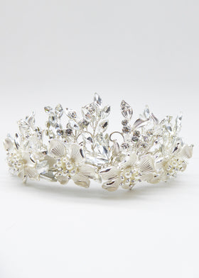 Devotion Crown, Headpiece, Eternal Bridal - Eternal Bridal