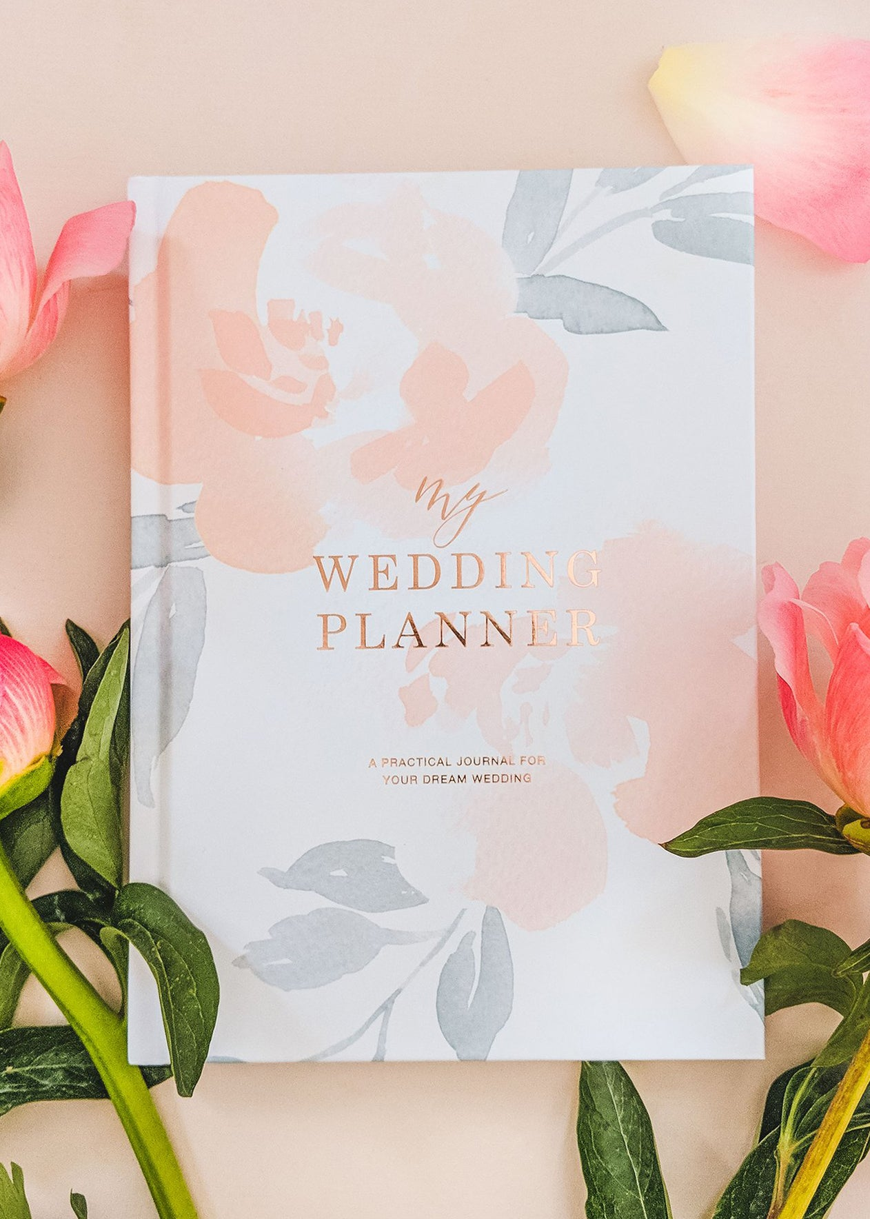 My Wedding Planner - Floral, Bridal Gifts, Blush & Gold - Eternal Bridal