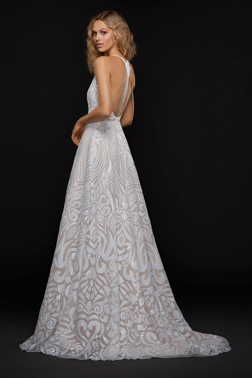 Delta, Gown, Blush by Hayley Paige - Eternal Bridal