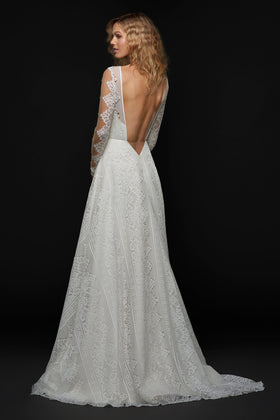 Bandit, Gown, Blush by Hayley Paige - Eternal Bridal