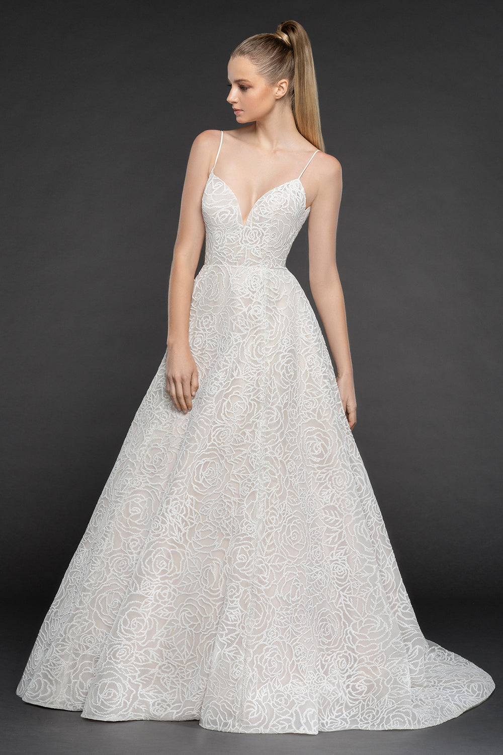 Jardin, Gown, Blush by Hayley Paige - Eternal Bridal