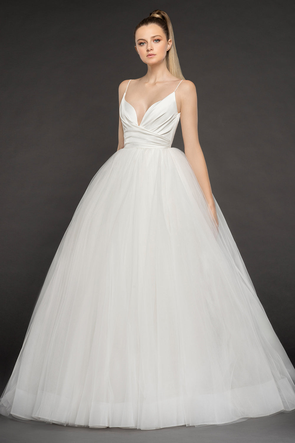Olympia, Gown, Blush by Hayley Paige - Eternal Bridal