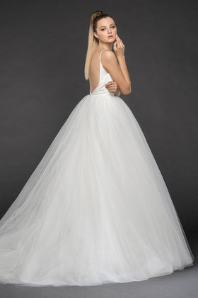 Olympia  - Sample Gown, Online Sample Sale, Blush by Hayley Paige - Sample Gown - Eternal Bridal