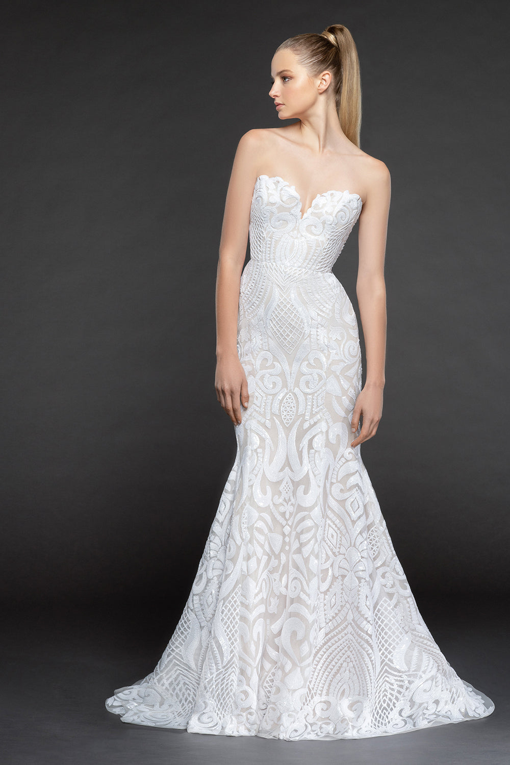 Safyr, Gown, Blush by Hayley Paige - Eternal Bridal