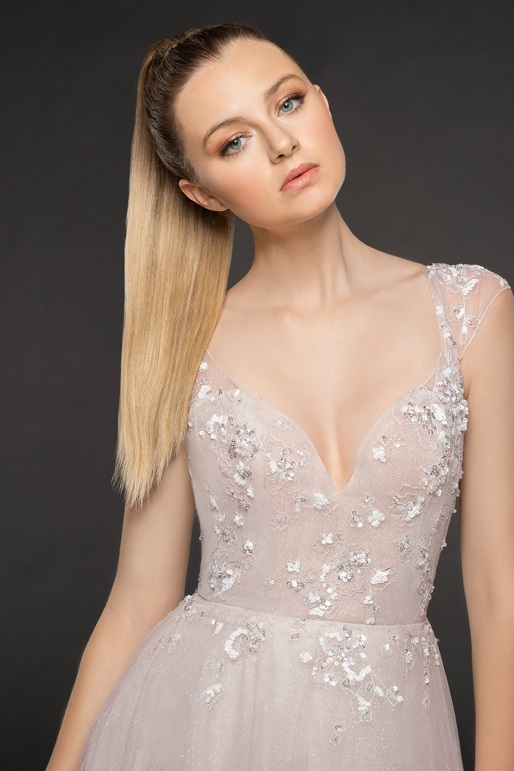 Amour - New, Gown, Blush by Hayley Paige - Eternal Bridal