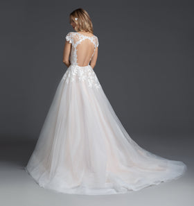 Theo, Gown, Blush by Hayley Paige - Eternal Bridal