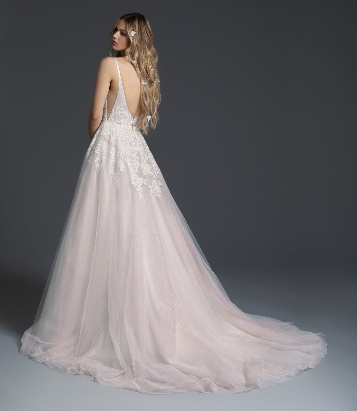 Fiona, Gown, Blush by Hayley Paige - Eternal Bridal