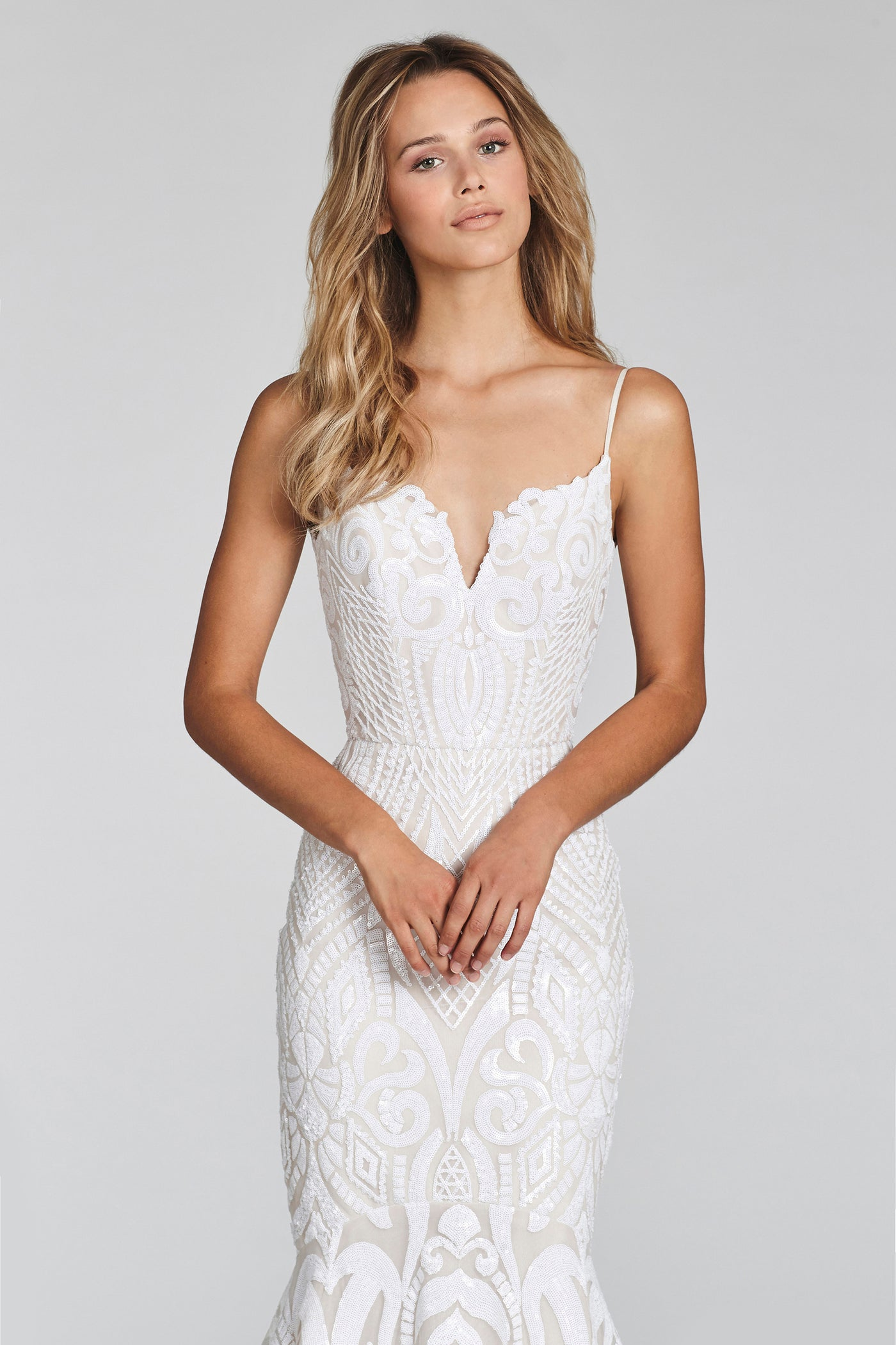 West, Gown, Blush by Hayley Paige - Eternal Bridal