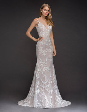 Nessy  - Sample Gown, Online Sample Sale, Blush by Hayley Paige - Sample Gown - Eternal Bridal