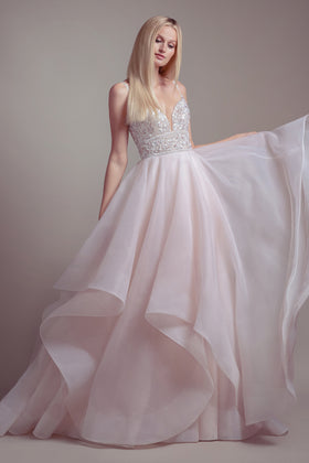 Phoenix, Gown, Blush by Hayley Paige - Eternal Bridal