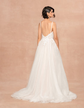 Isla - New, Gown, Blush by Hayley Paige - Eternal Bridal