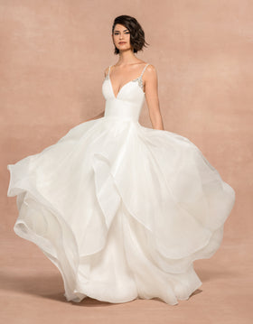 Halsey - Coming Soon, Gown, Blush by Hayley Paige - Eternal Bridal