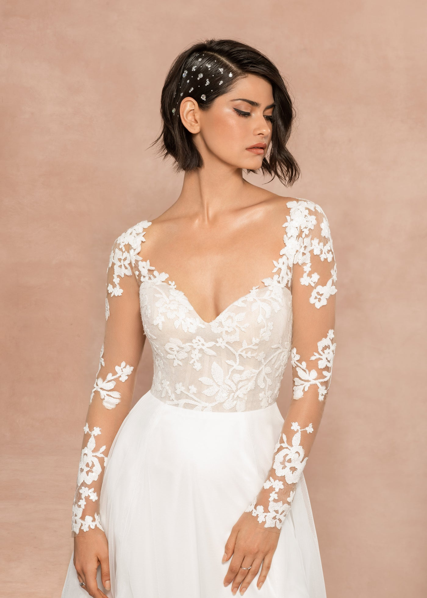 Remi - New, Gown, Blush by Hayley Paige - Eternal Bridal