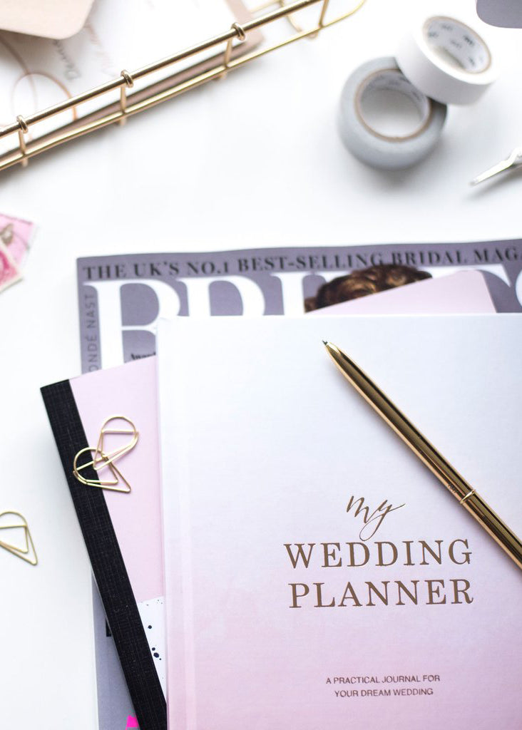My Wedding Planner - Ombre Pink