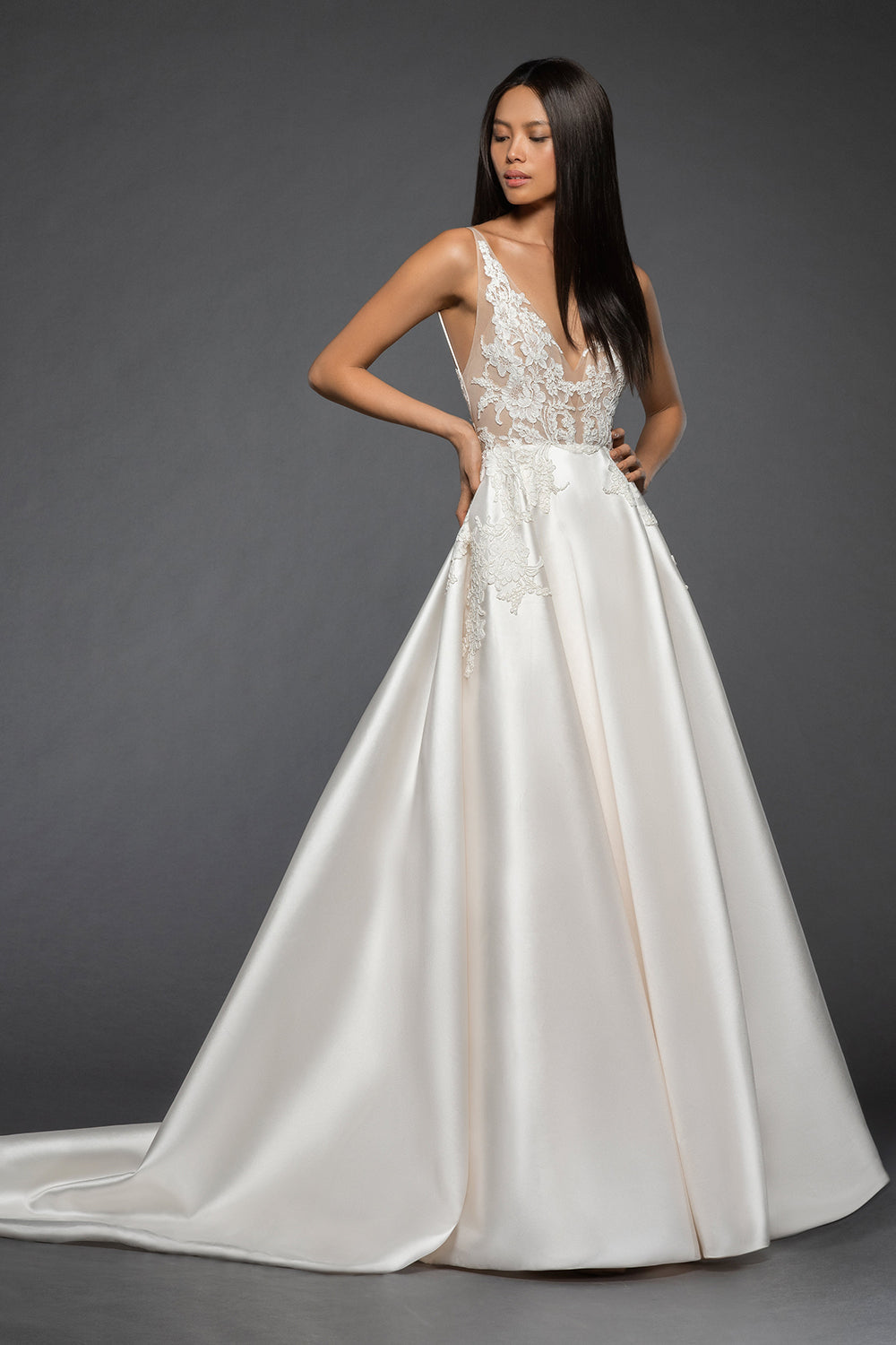Rufina, Gown, Lazaro - Eternal Bridal