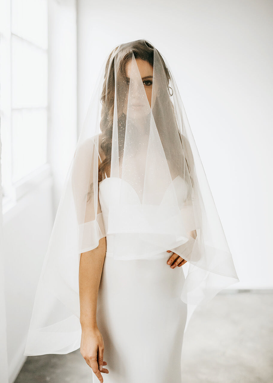 Londyn Sparkle Veil, Veils, Eternal Bridal - Eternal Bridal