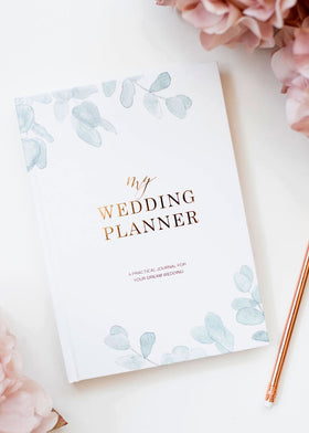 My Wedding Planner - Eucalyptus, Bridal Gifts, Blush & Gold - Eternal Bridal