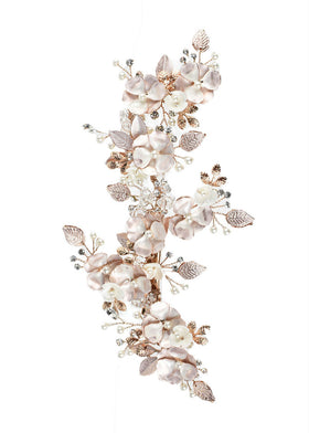 Blooming Kiss Comb, Headpiece, Eternal Bridal - Eternal Bridal