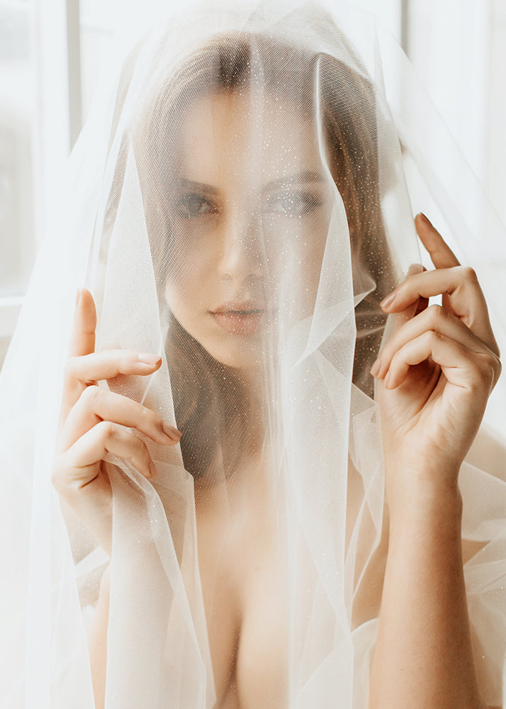 Macy Sparkle Veil, Veils, Eternal Bridal - Eternal Bridal